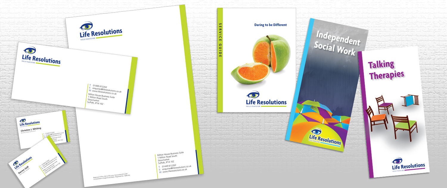 Logo design and stationery